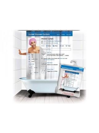 Социальная занавеска для ванной