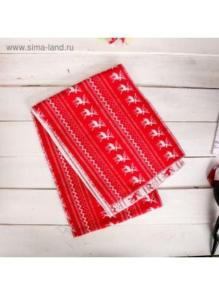 Новогодний набор - кружка и шарф