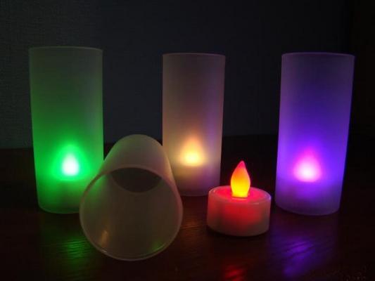 Подарки девушке - Электронная свеча