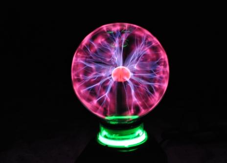 Светильник плазменный шар фото 478-729