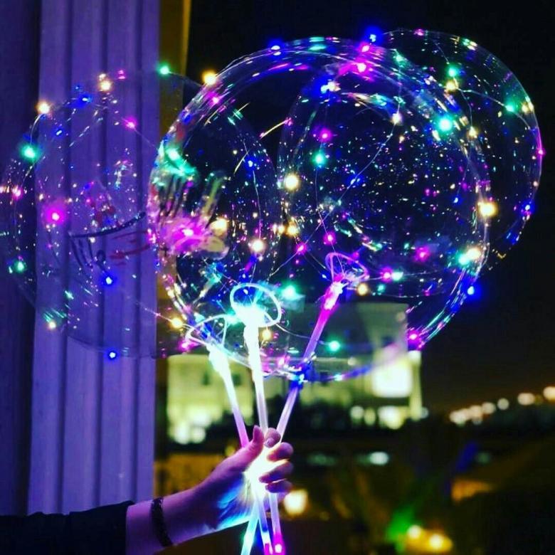 """Светящийся воздушный шар """"Бобо led"""" от 199 руб"""